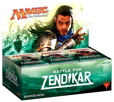 Magic The Gathering: Battle for Zendikar Boosters on Sale through October 20th!