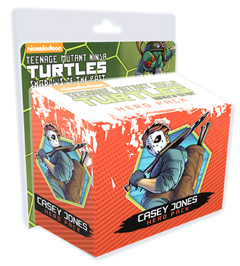 TMNT: Shadows of the Past Board Game & Casey Jones Hero Pack Expansion