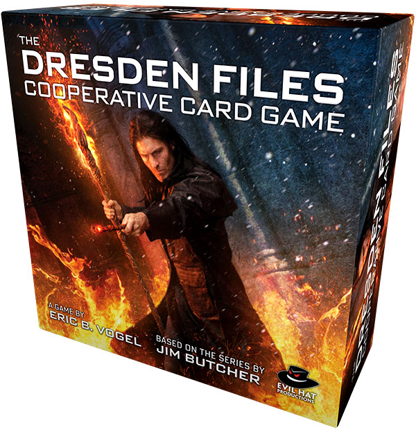 The Dresden Files Cooperative Card Game & Expansions