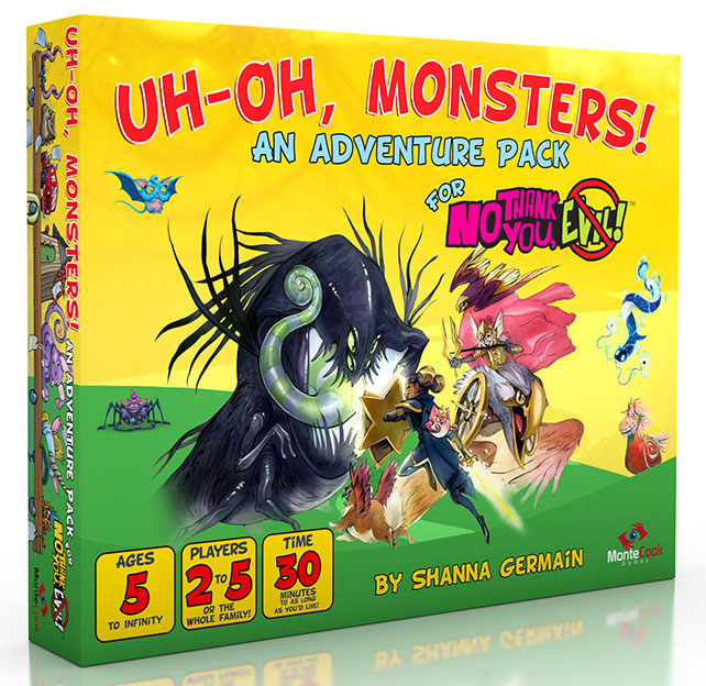 No Thank You, Evil! RPG: Uh-Oh, Monsters!