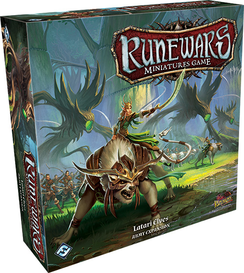 In House & In Stock! - Runewars Miniatures Game: Essentials Pack & Latari Elves Army Expansion