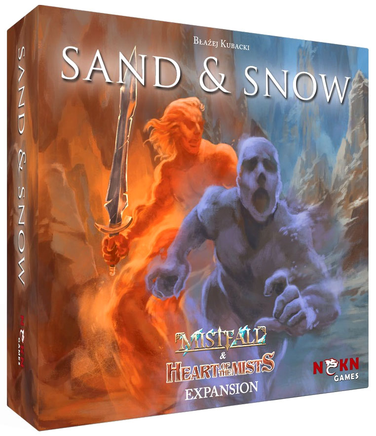 Mistfall: Heart of the Mists and Sand & Snow Expansion