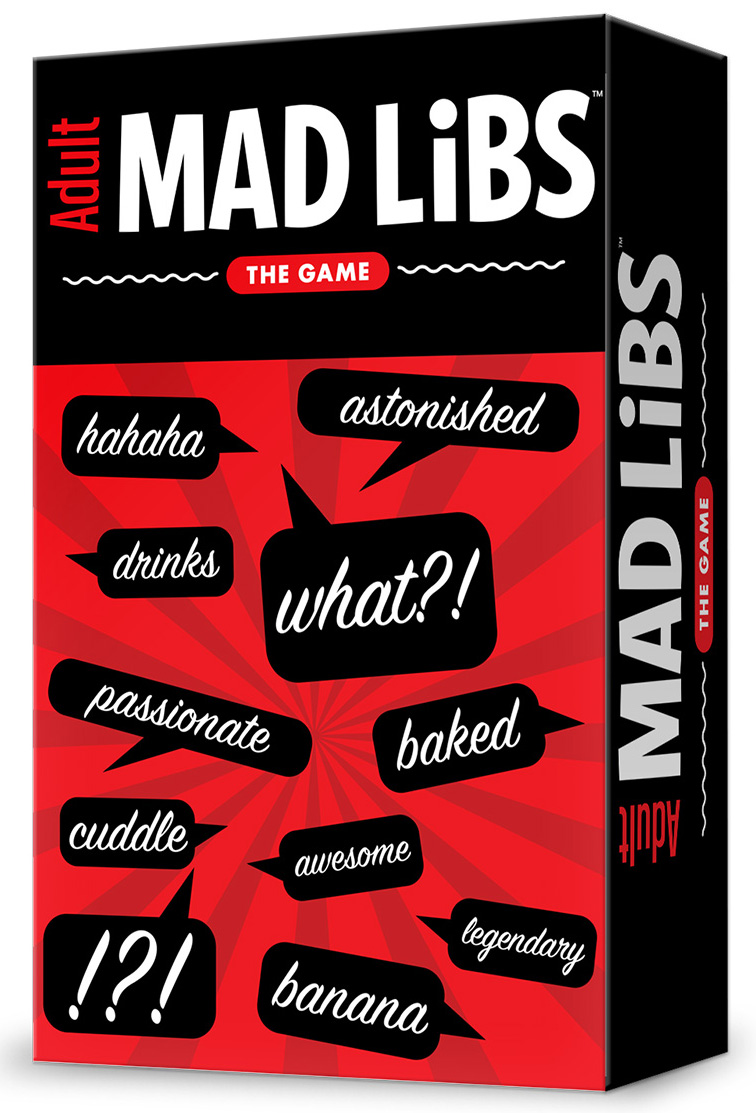 Adult Mad Libs: The Game