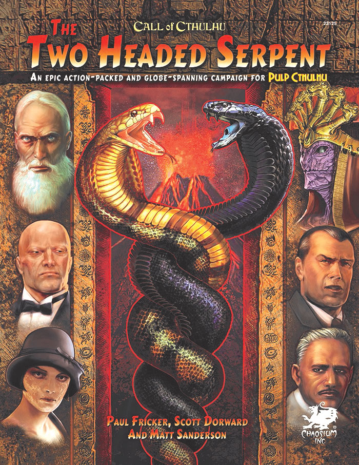Pulp Cthulhu: The Two-Headed Serpent Hardcover