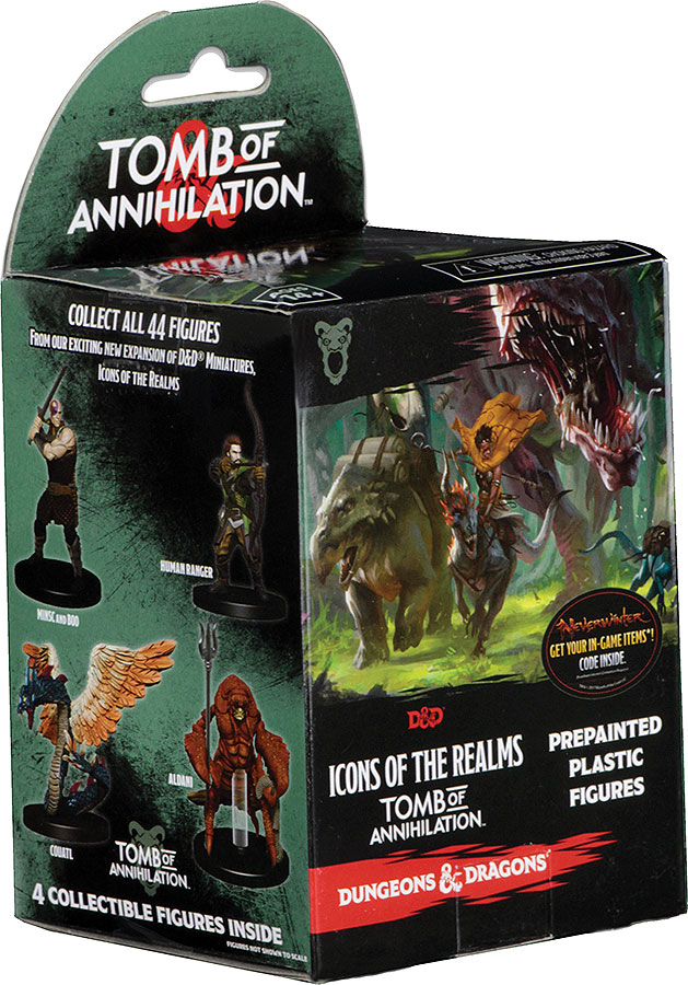 D&D Icons of the Realms Set 7 - Tomb of Annihilation Booster Expansion