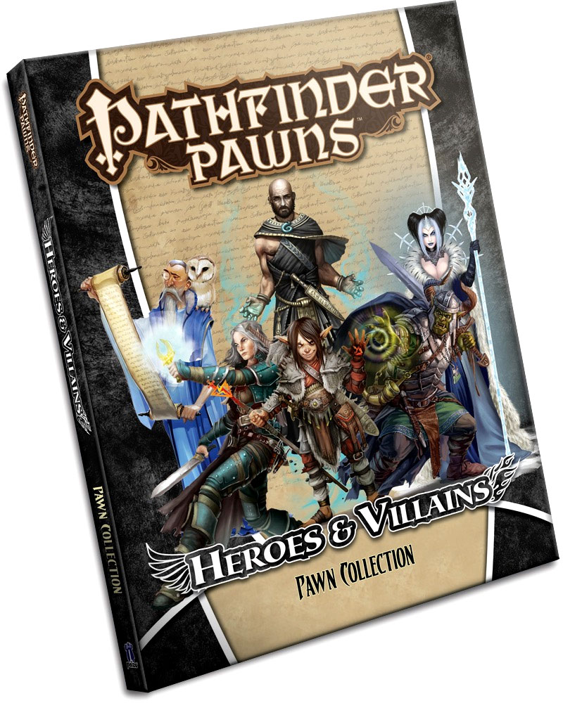 Pathfinder RPG: Pawns - Heroes & Villains Pawn Collection