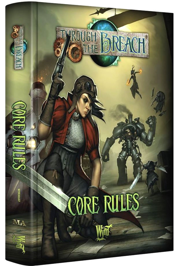 Through the Breach RPG: Core Rules (2nd Edition)