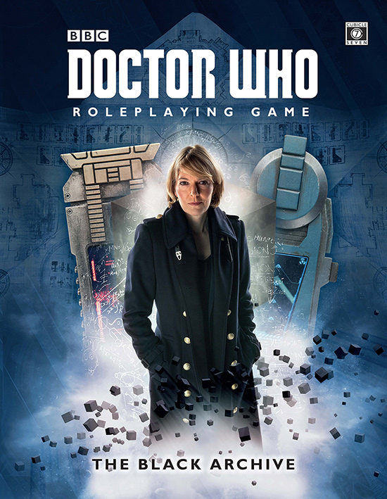 Doctor Who RPG: The Black Archive Hardcover
