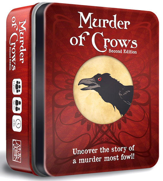 Murder of Crows Second Edition Game Tin