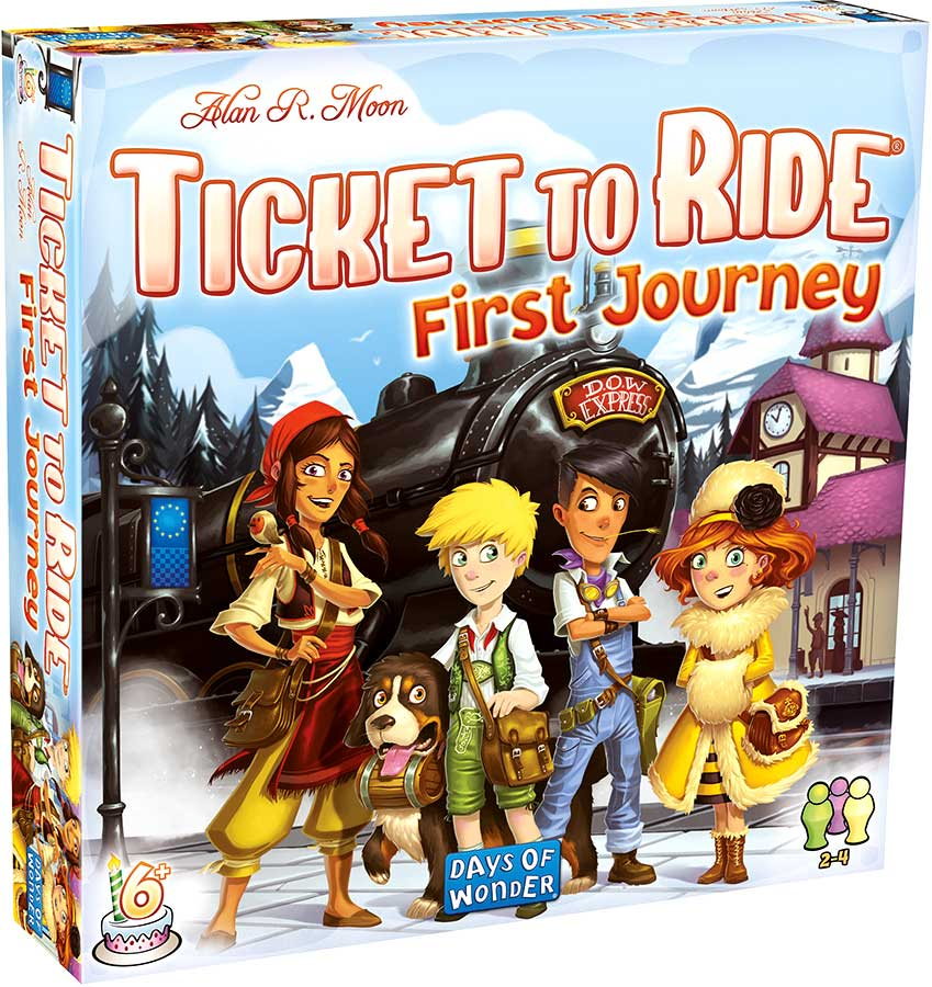 Back in Stock! - Ticket to Ride: First Journey