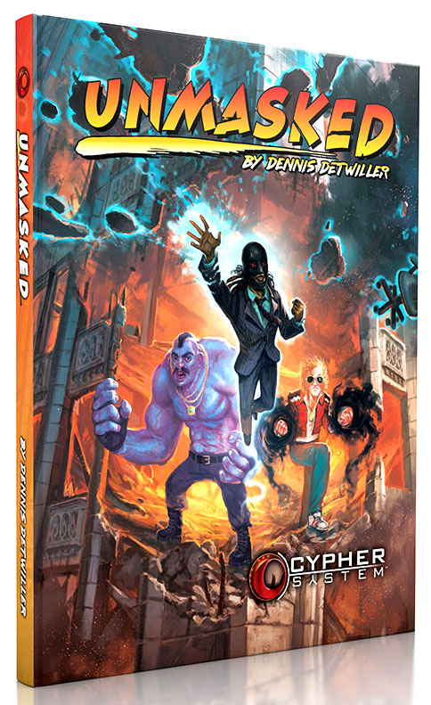 Cypher System RPG: Unmasked Hardcover