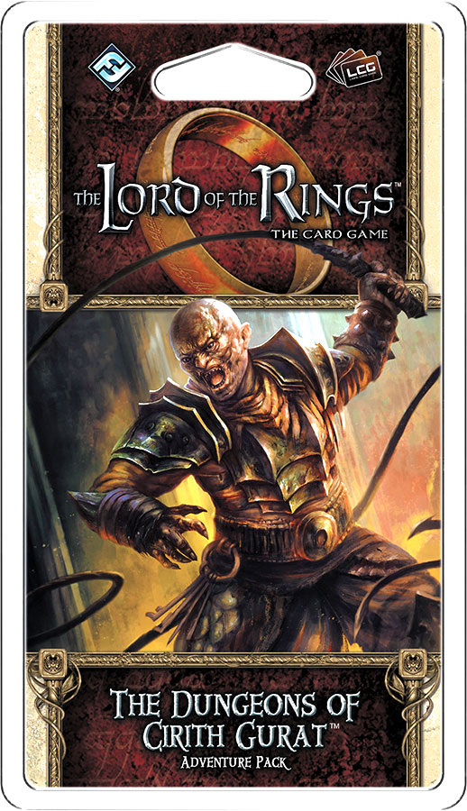 The Lord of the Rings LCG: Dungeons of Cirith Gurat Adventure Pack
