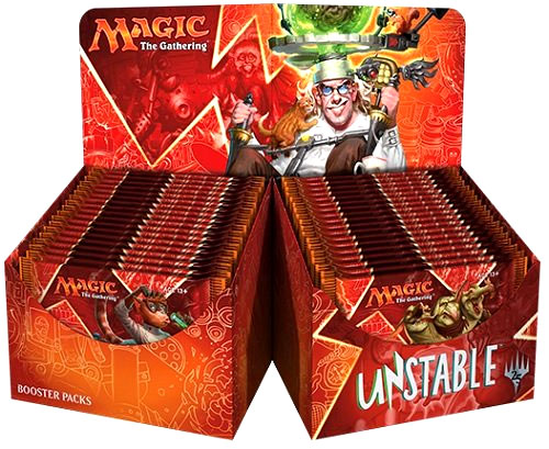 Magic the Gathering: Unstable Booster Expansion