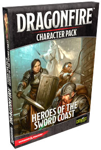 Dragonfire DBG: Character Expansion Pack 1 - Heroes of the Sword Coast