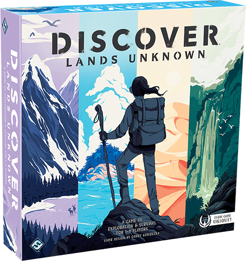 Discover: Lands Unknown from Fantasy Flight Games!