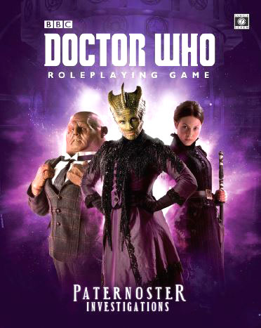 Doctor Who RPG: Paternoster Investigations Hardcover