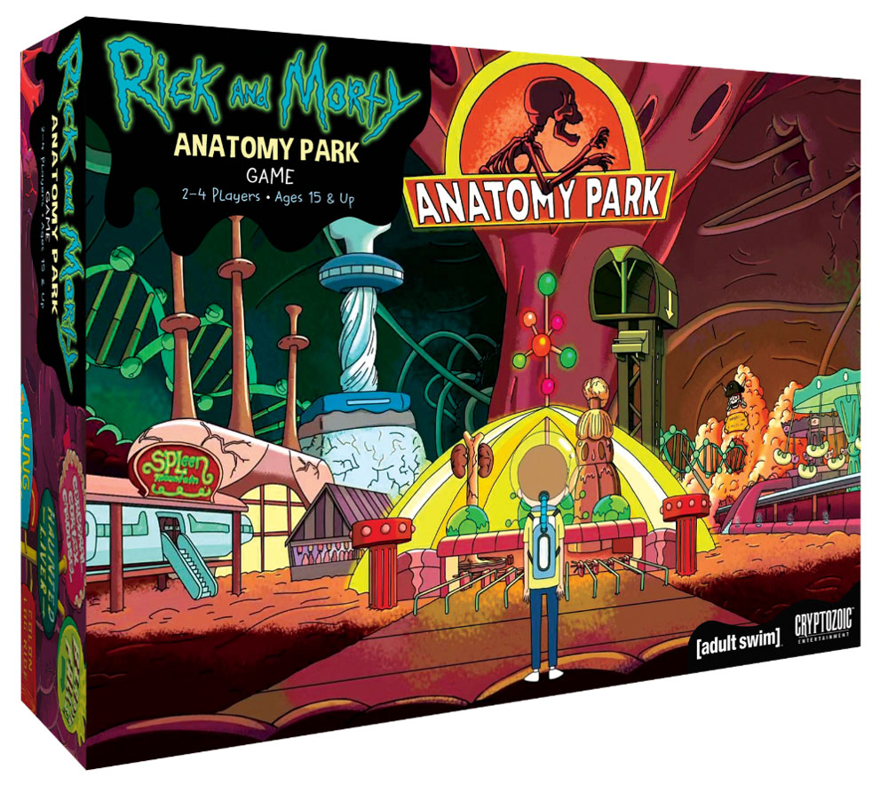 Rick and Morty: Anatomy Park - The Game